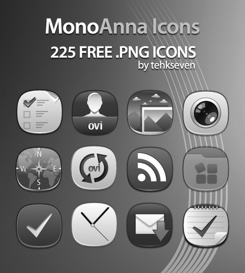 mobo anna icons by tehkseven