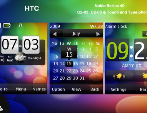 HTC theme for Nokia C2-03 & C2-06, X3-02 phones
