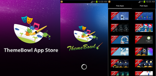 ThemeBowl app store preview