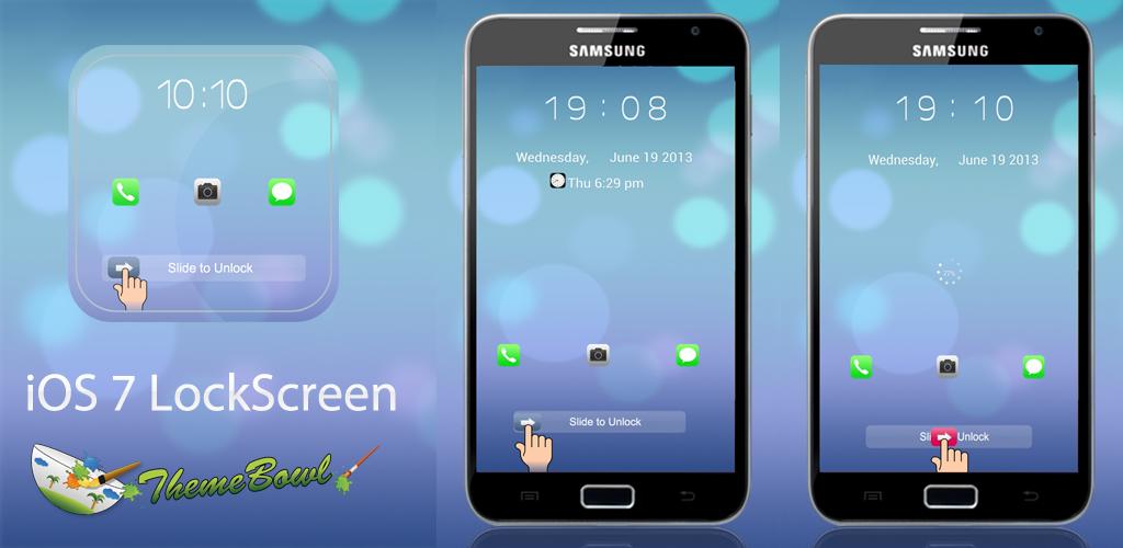 Paid Theme: iOS 7 Go Locker Theme for Android