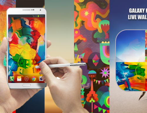 Free Galaxy Note 3 Live Wallpaper pack with WaterDroplet Sound, Ripples and Vibration for Android