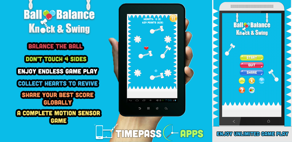 Bouncing Balls Balance Game Free for Android