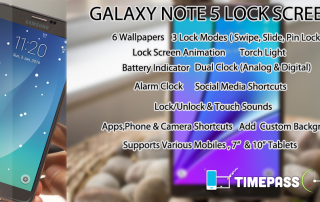 lock screen galaxy note 5 s6 android theme