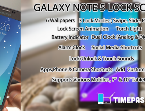 Lock Screen Galaxy Note 5 / S6 for Android