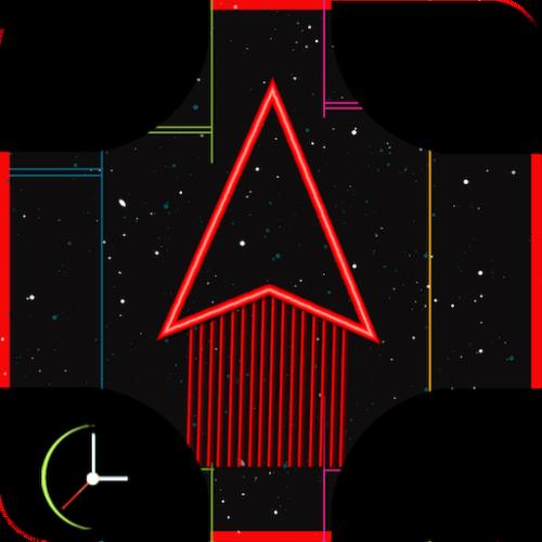 Space racer Neon Riders Source code buildbox